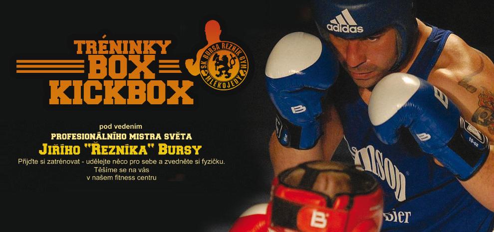 Tréningy - Box - Kickbox
