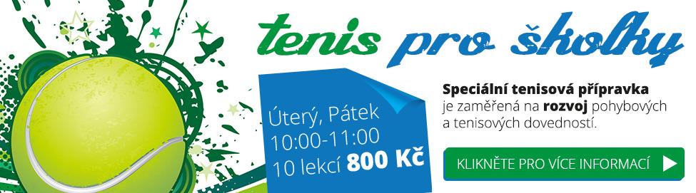 Tenis pro školky